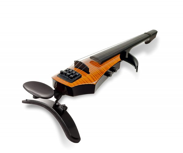 NS Design WAV 4 Electric Violin Amber Burst With Case