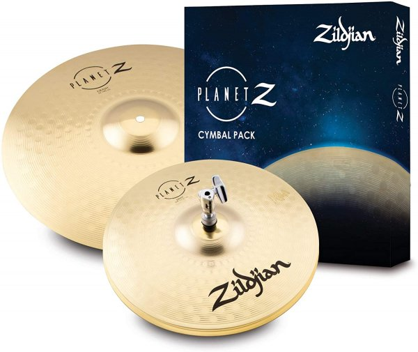 "Zildjian Planet Z Launch Cymbal Pack, 13"" pair, 16"" (ZP1316)"